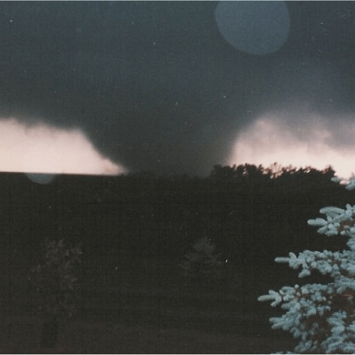 A Picture of the 1992 F5 Chandler Tornado