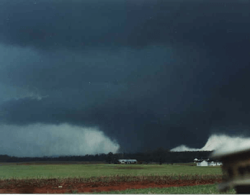 1994 F4 Tornado in Alabama