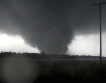 The 2011 F5 Joplin Tornado Funnel Cloud