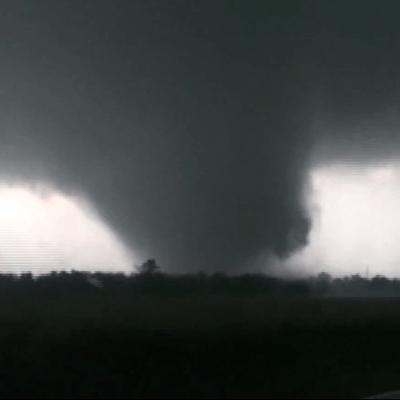 A Picture of a 2011 Joplin Tornado