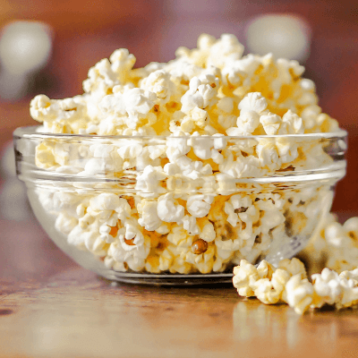 A Picture of a Bowl of Popcorn