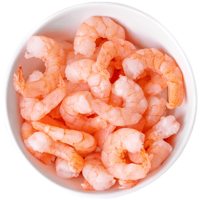 A Picture of a Bowl of Shrimp
