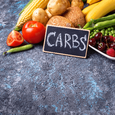 A Picture of Foods with Carbs