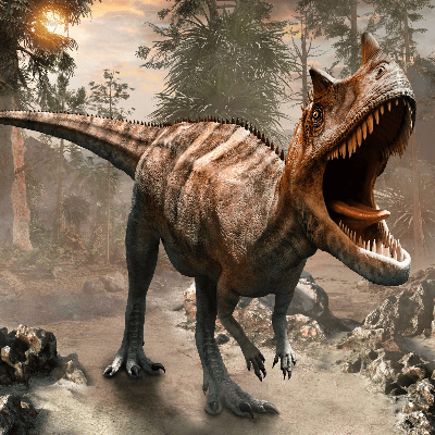 A Picture of a Ceratosaurus