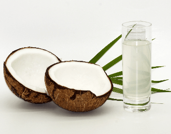 A picture of coconut milk