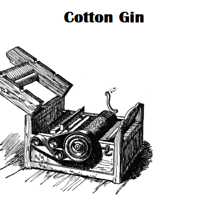 A Picture of a Cotton Gin