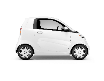 A picture of a generic smart car