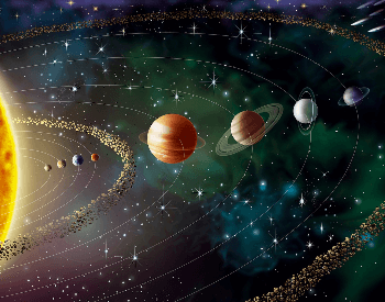 A beautiful picture that depicts our Solar System in one shot