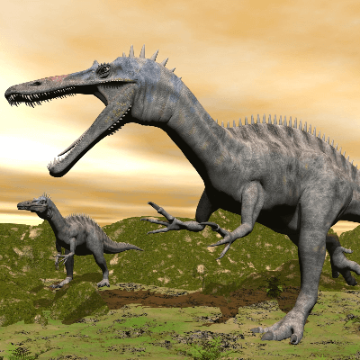 A Picture of a Suchomimus