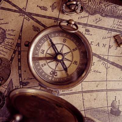 A Picture of a Compass