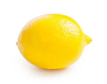 A picture of an uncut whole lemon