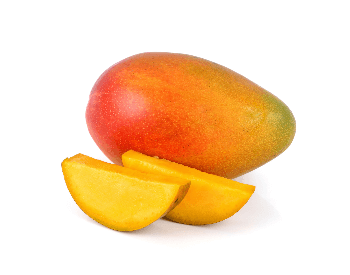 A picture of a whole papaya