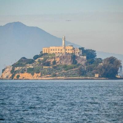 A Picture of Alcatraz Prison and Alcatraz Island