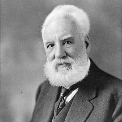 A Picture of Alexander Graham Bell