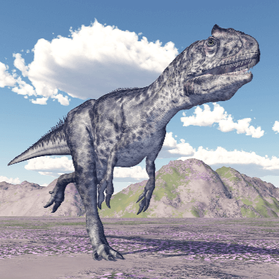 A Picture of Allosaurus Fragilis
