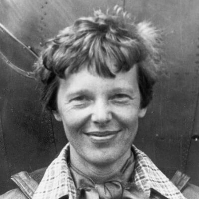 A Picture of Amelia Earhart
