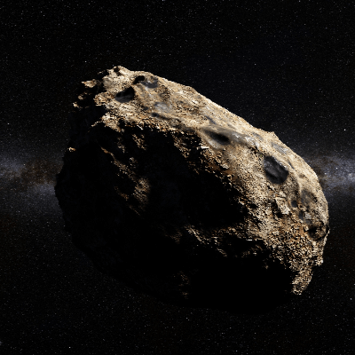 A Picture of an Asteroid