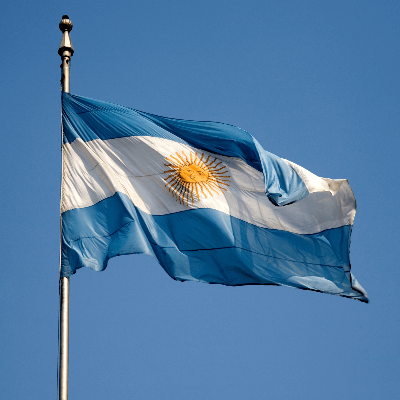A Picture of the Argentina Flag