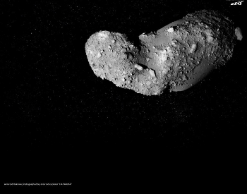 A picture of the asteroid 25143 itokawa