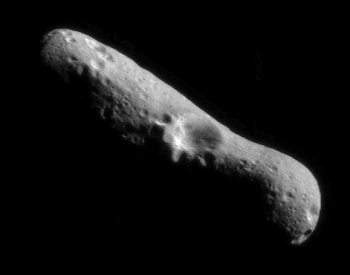 A picture of the asteroid 433 Eros