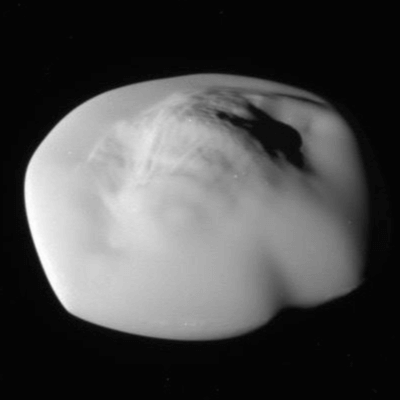 A Picture of Saturn's Moon Atlas