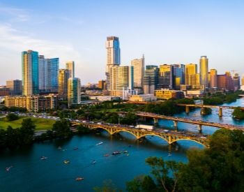 A picture of Austin, the capital city of Texas