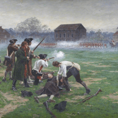 The Battles of Lexington and Concord (William B. Wollen)