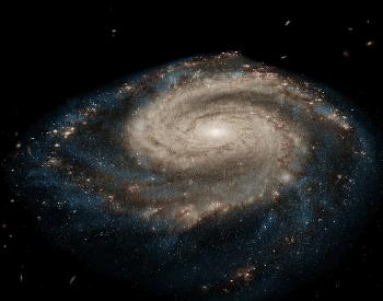 A beautiful photo of the Whirlpool Galaxy