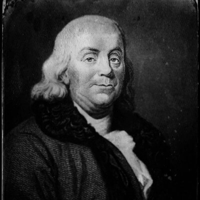 A Picture of Benjamin Franklin