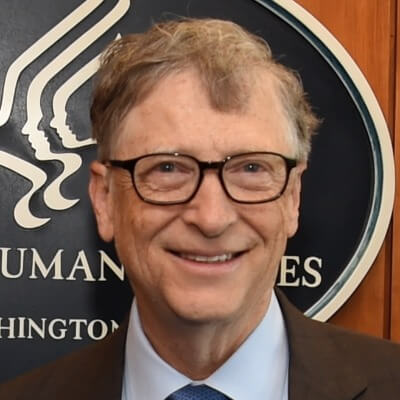 A Picture of Bill Gates