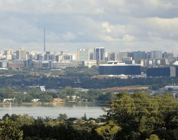 A picture of the capital city Brasília