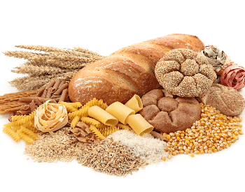 A picture of different types of bread that contain carbohydrates
