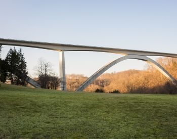 A picture of the bridge on the Natchez Trace Parkway
