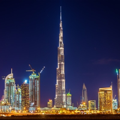 A Picture of the Burj Khalifa