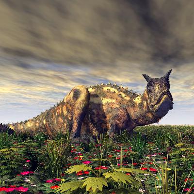 A Picture of Carnotaurus Sastrei