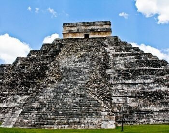A picture of Chichen Itza in Yucatan, Mexico