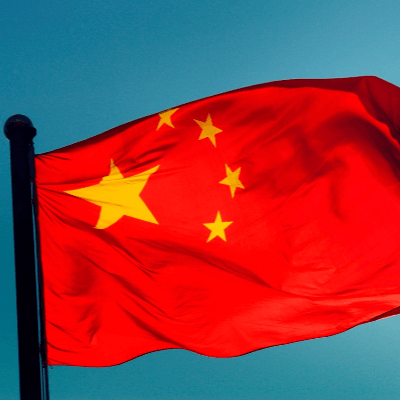 A Picture of the Chinese Flag