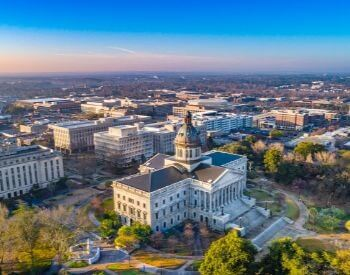 A picture of Columbia, the capital city of South Carolina