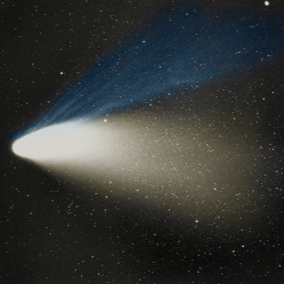 A Picture of Comet Hale-Bopp