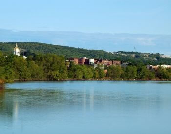 A picture of Concord, the capital city of New Hampshire