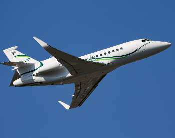 A picture of a Dassault Falcoon 900lx HA-LKZ