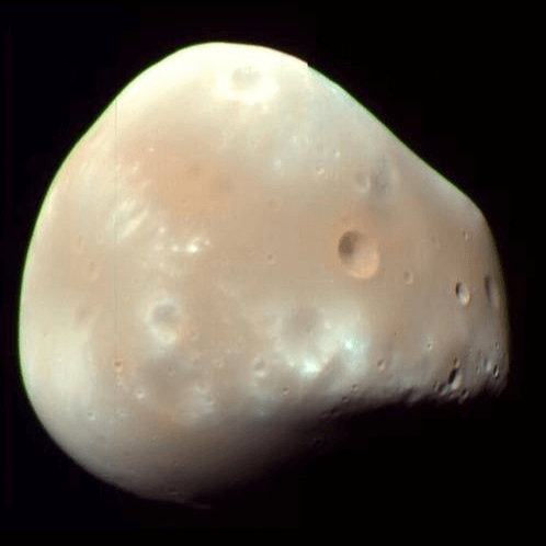 A Picture of the Moon Deimos