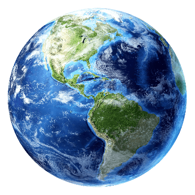 A Picture of the Planet Earth