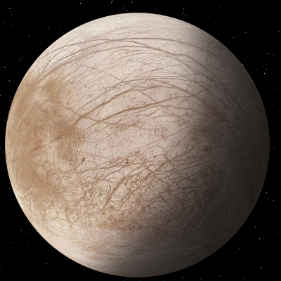 A Picture of Jupiter's Moon Europa