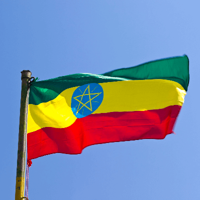 A Picture of the Flag of Ethiopia