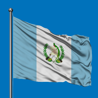 A Picture of the Flag of Guatemala