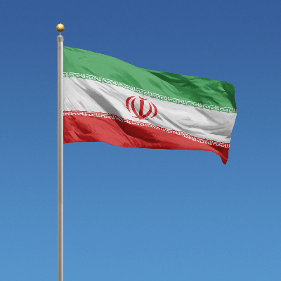 A Picture of the Flag of Iran
