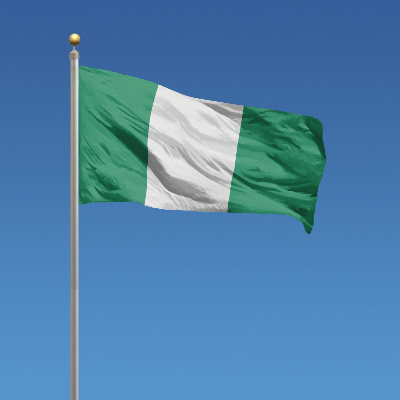 A Picture of the Flag of Nigeria