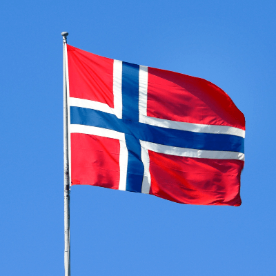 A Picture of the Flag of Norway