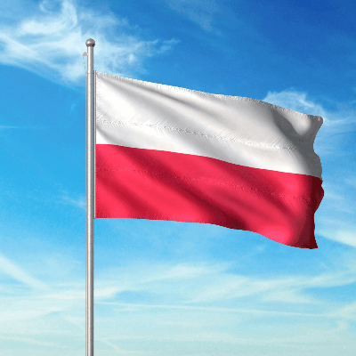 A Picture of the Flag of Poland